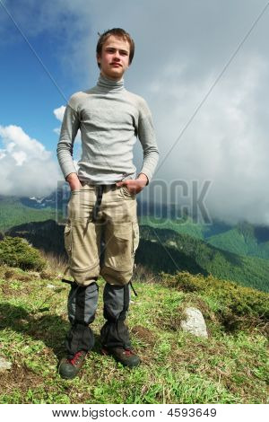 Boy In Hike