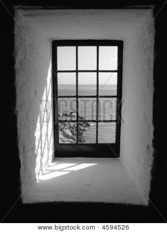 Window (black And White)