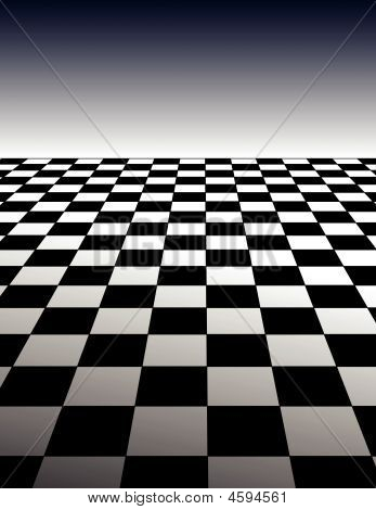 Fondo de tablero de Checker-