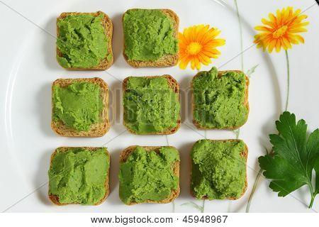 Green Peas Puree