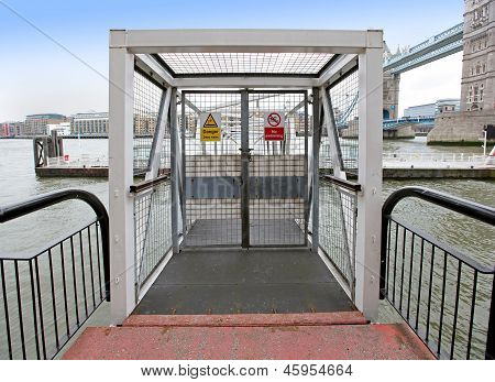 Station Pier Entrance