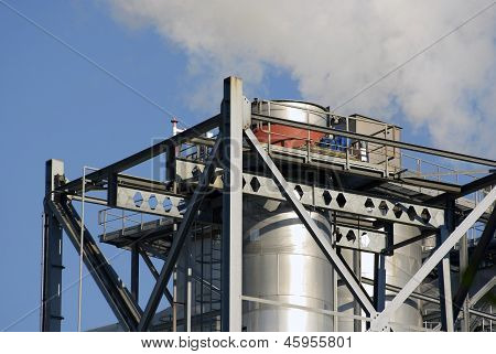 Industrial Factory Chimneys