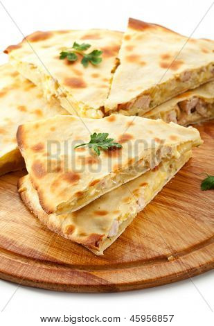 Pizza Calzone with Chicken