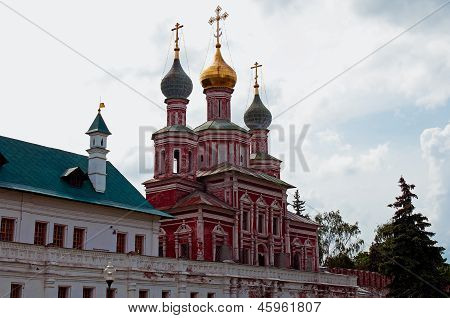 Church of the Intercession of the Most Holy Mother of God in the Novodevichy Monastery