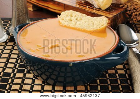 Chicken Gouda Bisque