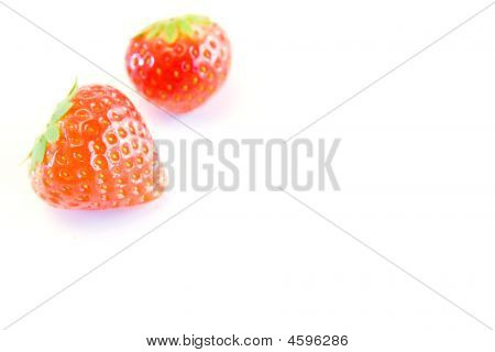 High Key Strawberries