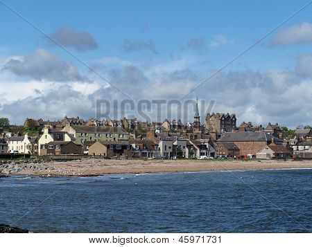 Stonehaven Seen From The Seaside, May 2013