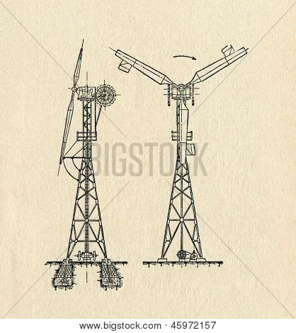 Electric Windmill Diagram
