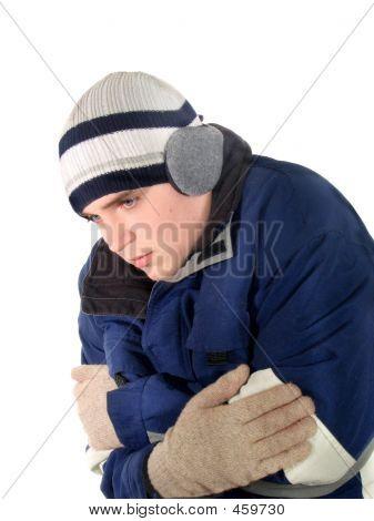 En el frío