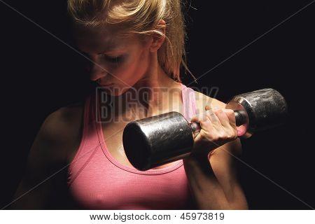 Focused On My Fitness Weight Training