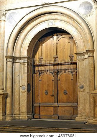 Old Elegant Door