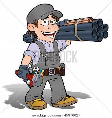 Handyman - Plumber Gray