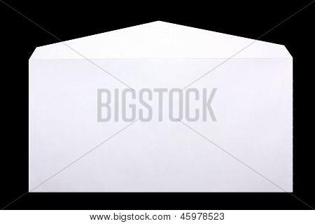 Envelope Isolated On Black Background