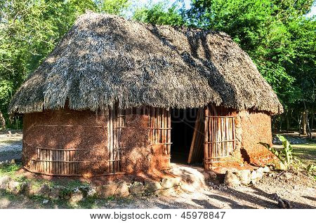 Traditional Mayan Home