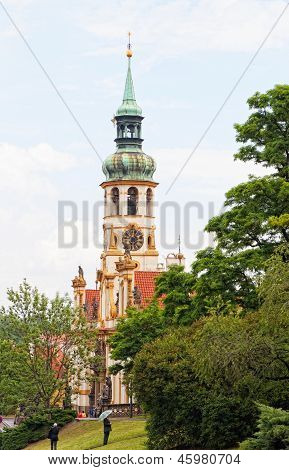 Prague pilgrim place Loreta Czech Republic.