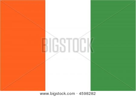 Flag Of Cote D'ivoire.