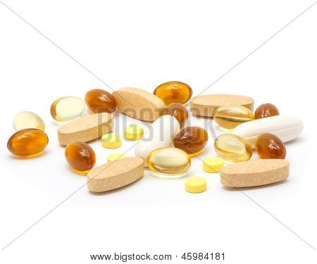 Medicine Pill Isolated