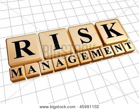 Risk Management In Golden Cubes