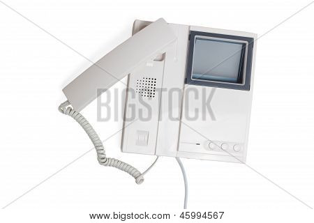 call intercom communication button speaker electronic cable devi