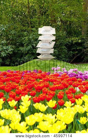 Art In Flower Garden