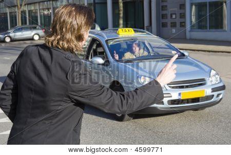Hauling A Taxi