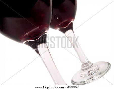 Wine Glasses Diagonal