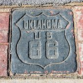 Route 66: US 66 Shield, Tulsa, OK