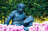 foto of albert einstein  - Albert Einstein Memorial in at the National Academy of Sciences in WashingtonDC - JPG