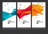 foto of letterhead  - Vector abstract background set EPS 10 - JPG