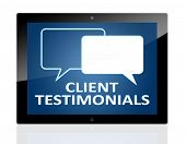 Tablet PC Client Testimonials