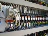 stock photo of voltage  - Industrial electrical equipment - JPG