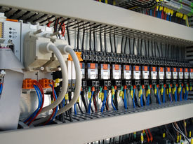pic of contactor  - Industrial electrical equipment - JPG