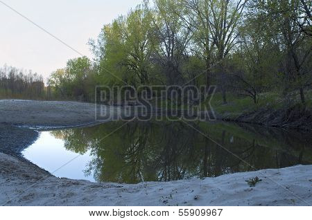 Fort Snelling State Park Pond And Forest