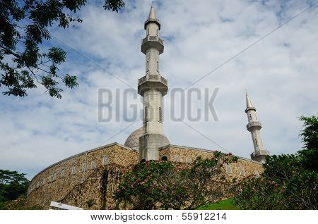 MInaret of Al Muhajirin Mosque