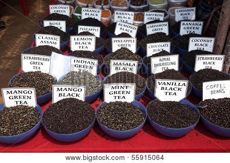 Indian Tea At Market