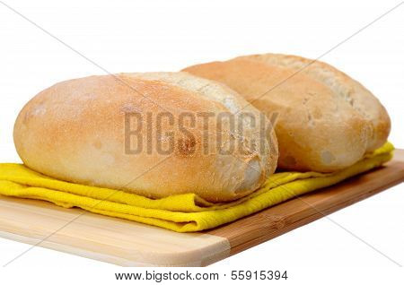 A Pair Of Bread Bun