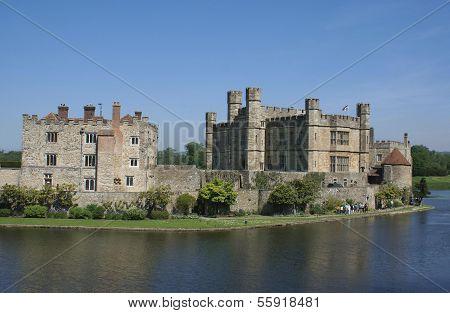 Castillo de Leeds, Kent, Inglaterra