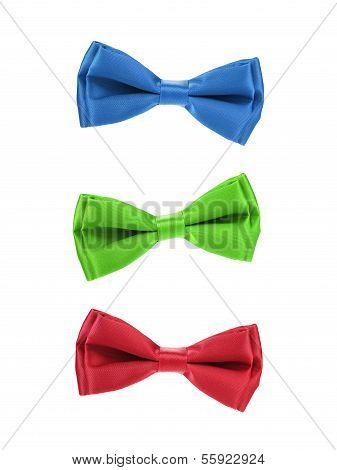 set of colorful butterflies Tie