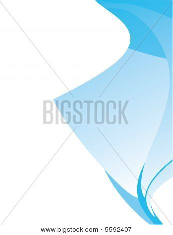 Blue White Abstract Open Background 3