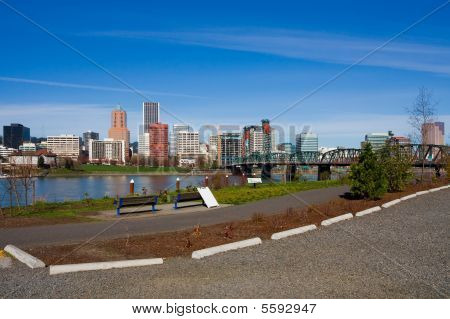 Portland downtown (Oregon state)