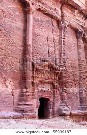 Rock Cut Houses at Petra