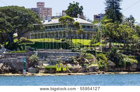 Admiralty House Kirribilli Point Sydney