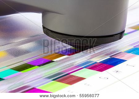 Spectrophotometer, Print Measuring Tool