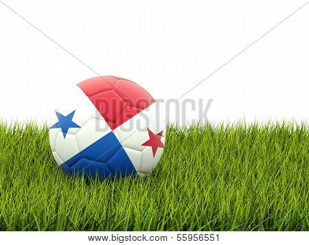 Football With Flag Of Panama