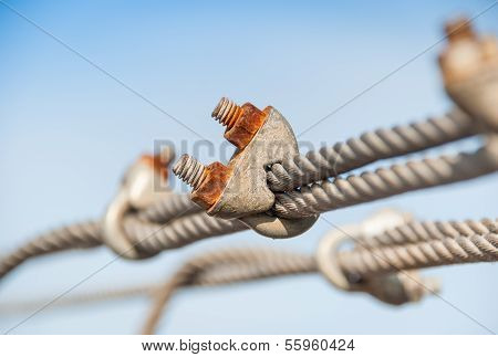 Steel Turnbuckle And Sling Steel