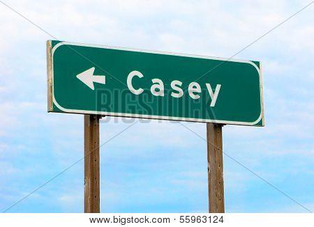 This Way To Casey, Iowa
