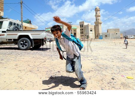 Socotra Young Boy