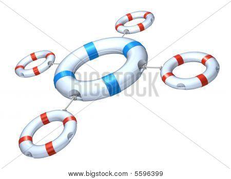 Lifebuoy set