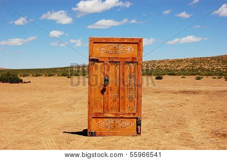 Door in the desert