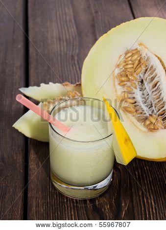 Homemade Honeydew Juice